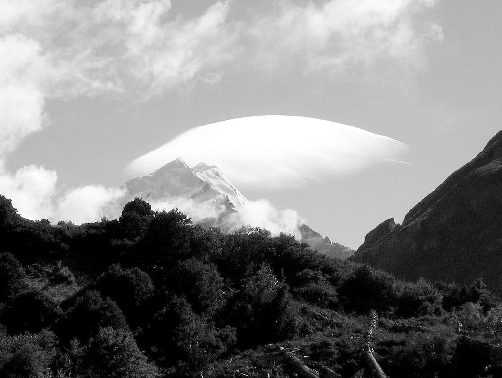 Clouds Over Mt. Cook