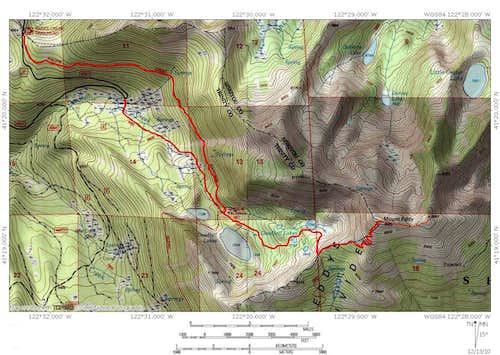 Deadfall Lakes Trail