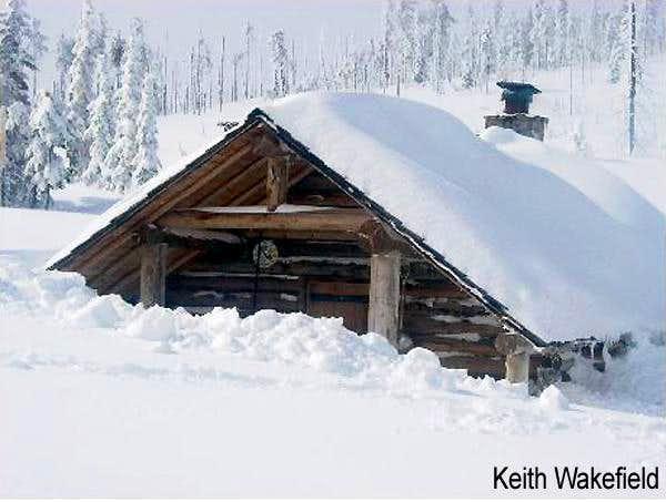 Snow Peak Shelter - Winter