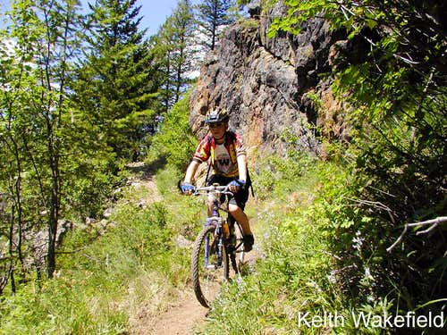 Cycling the Kettle Ridge Trail