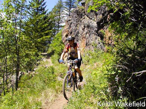 Cycling the Kettle Ridge Trail