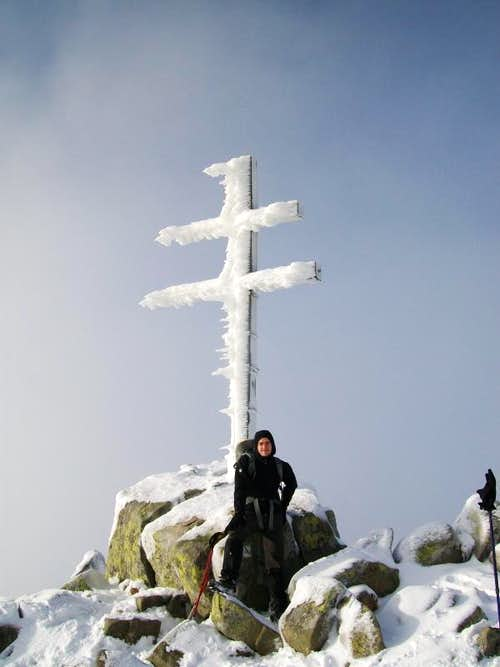 On the summit of Dumbier (2043m.)