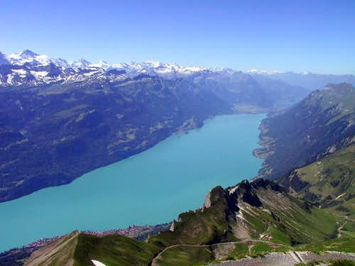 View from Brienzer Rothorn on...