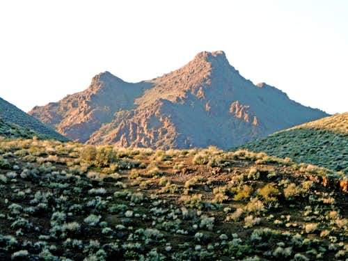 Daylight Castle from the Titus Canyon Road