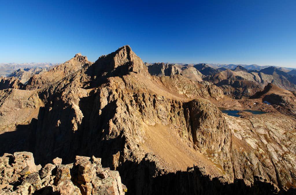 Jupiter Mountain: summit view north