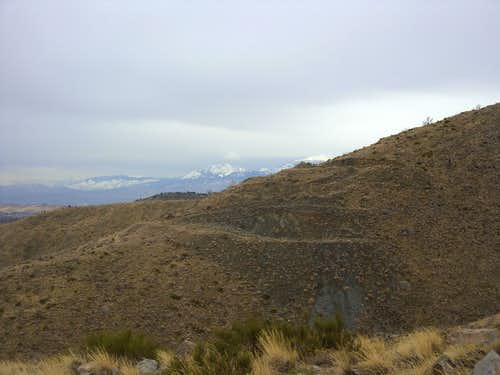 View of the Sierra Nevada