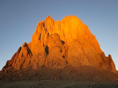Ship Rock Sunset 1/5