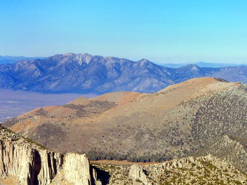 Glass Mountain from Pointless Peak, Eastern Sierra