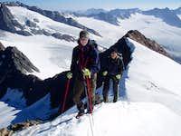 On the NE ridge of the Fluchtkogel with Floris