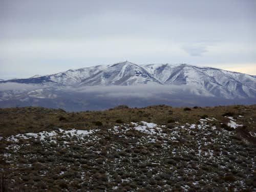 Peavine Peak 8266' from Spanish BM