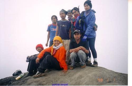 at puncak Merpati