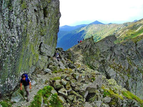 Typical path in Tatras