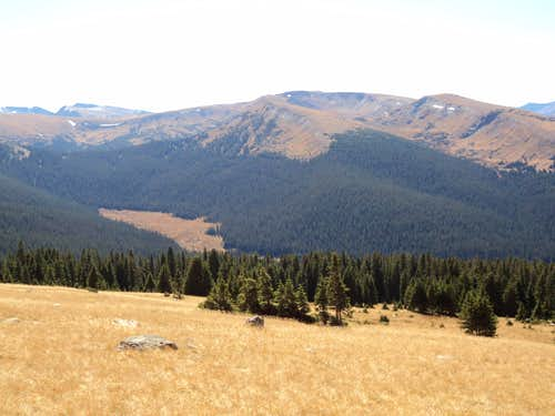 Chapin Creek Drainage and Chapin Pass