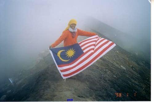 waving my national flag...