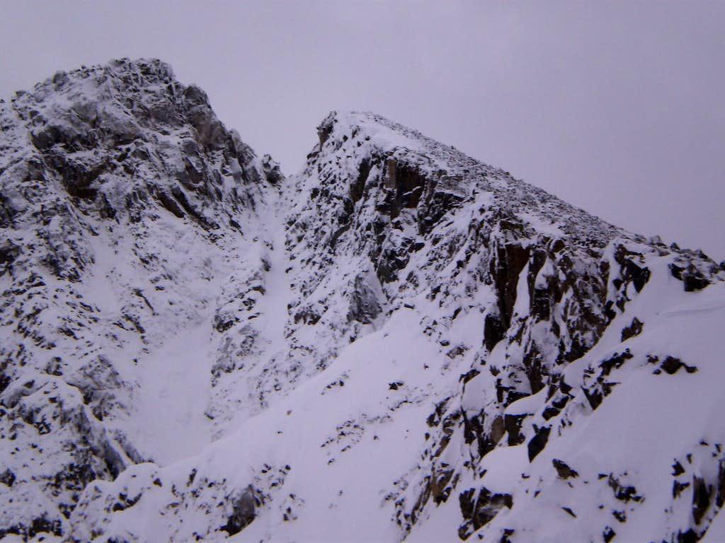 Pronged Summit of Pacific Peak