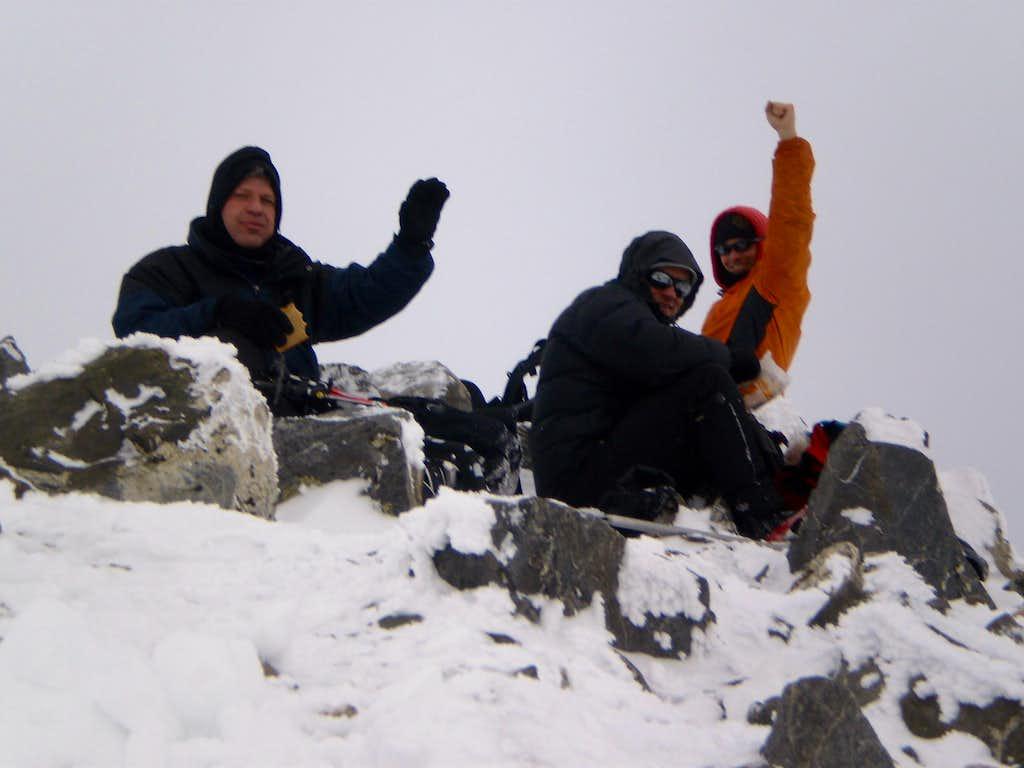 Pacific Peak summit
