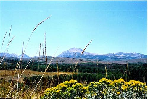 Mount Dunderberg as seen from...