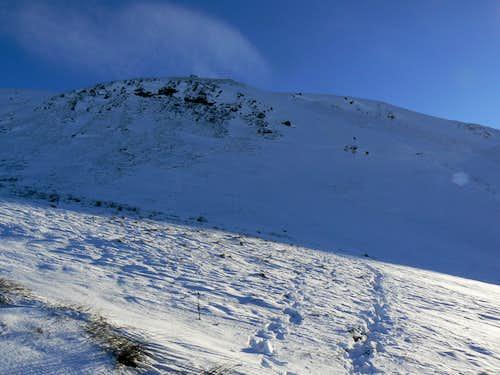 Western slopes of Dumgoyne