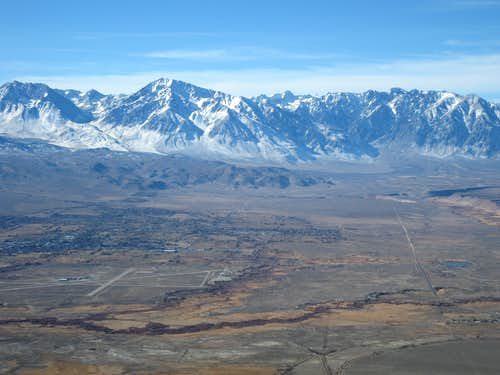 Owens Valley and the Sierras