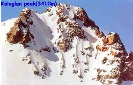Peak of Kalagh Laneh in...