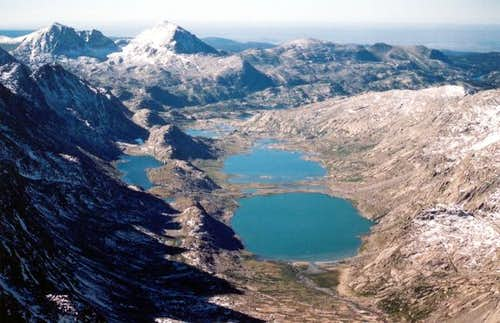 Upper & Lower Titcomb Lake