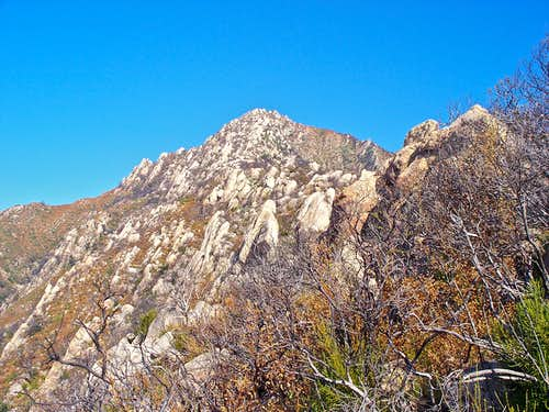 Southeast Ridge of Arlington Peak