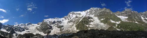 Monte Rosa East Face - the biggest wall in the Alps