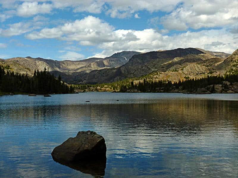 Helen Lake and Cloud Peak