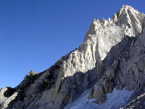 North Arete from below Cox...