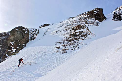 East face approach