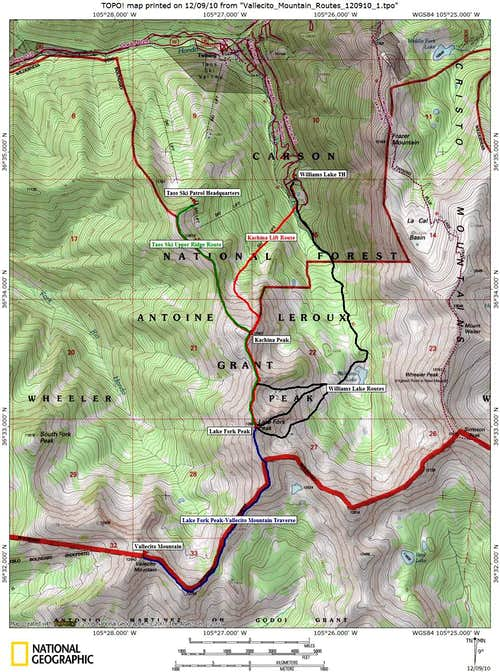 Vallecito Mountain Routes