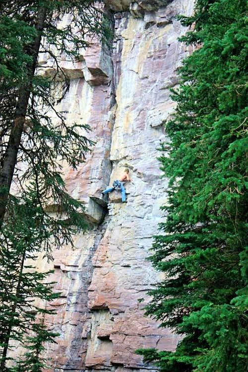 Another Trailside Attraction, 5.10b