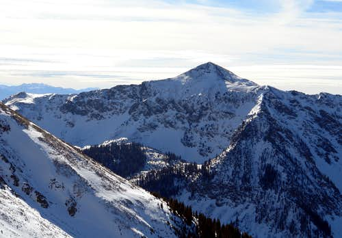 Vallecito Mountain from Kachina Peak