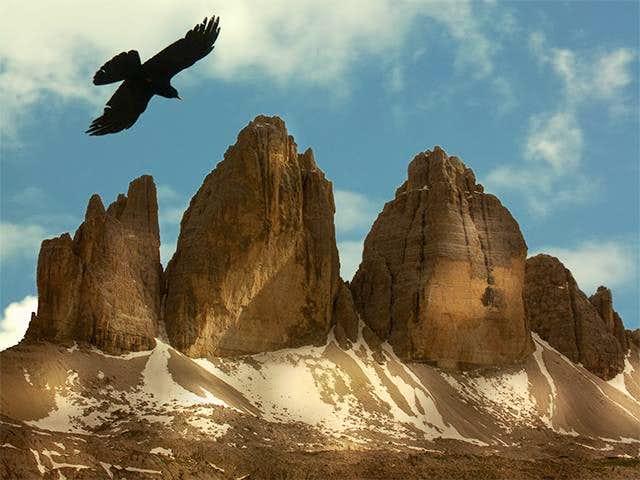 Tre Cime di Lavaredo with...