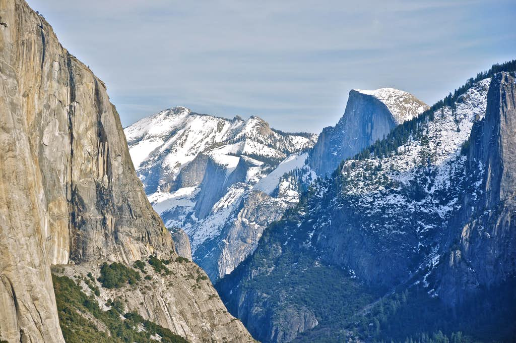 Clouds Rest and Half Dome