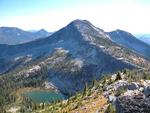Smith Peak and Smith Lake