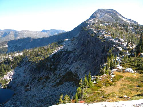 The North Ridge of Smith Peak