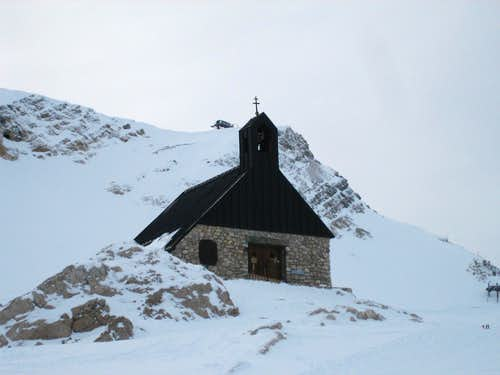 Chapel on the Zugspitze