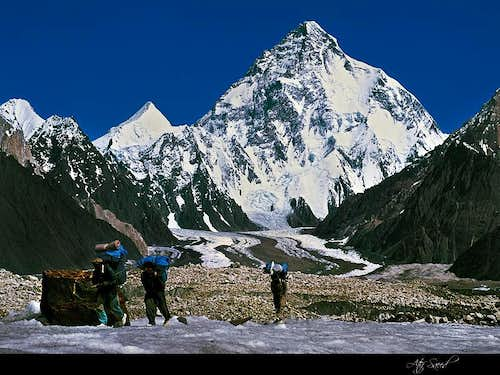 K2- Second Highest Place in the World
