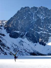 Frozen Colchuck Lake