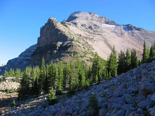Ostler Peak viewed from...