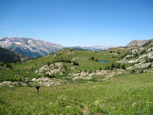 En Route to Trail Rider Pass