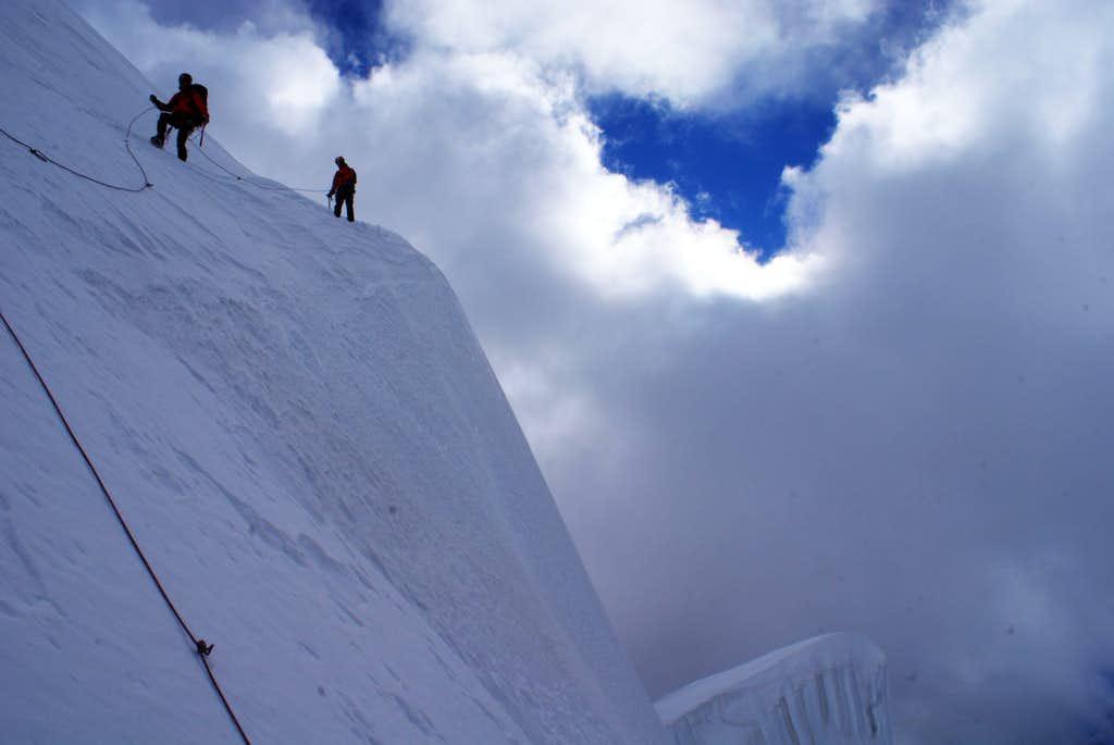 ballancing on the edge