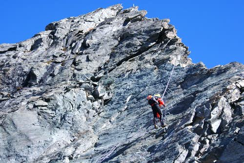on west ridge above Kingletscher