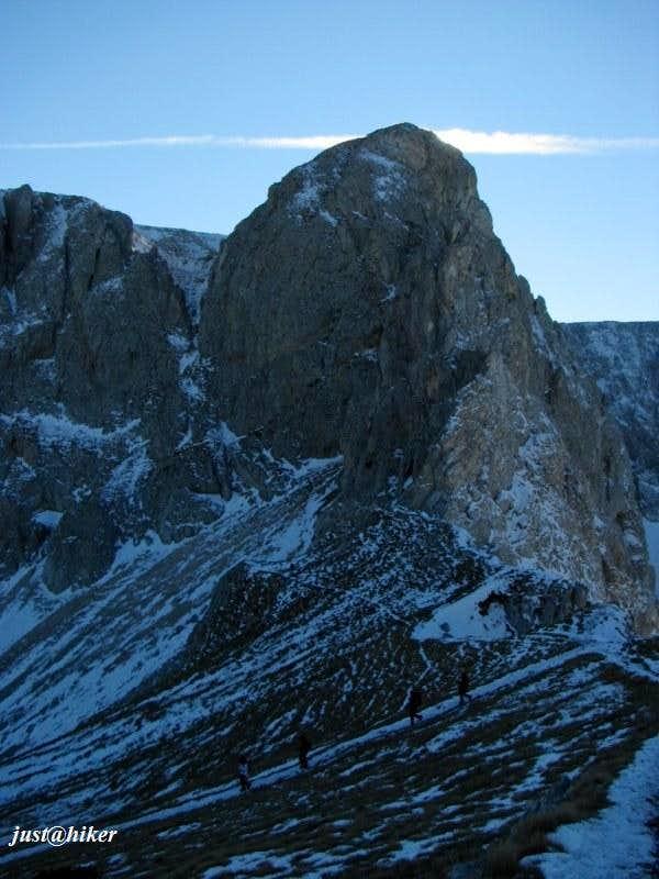 Šljeme massif(2.455m)