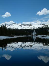 Crystal Crag reflection