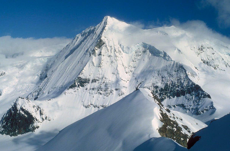 Mont Blanc de Cheilon from La Luette : Photos, Diagrams ...