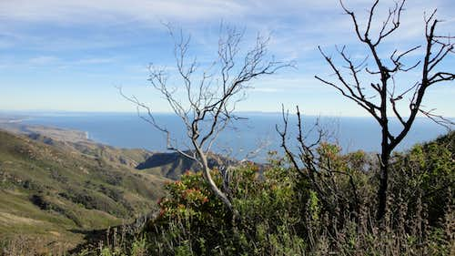 North Santa Barbara from Gaviota Peak