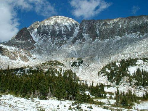 9/6/04: Mount Audubon, from...