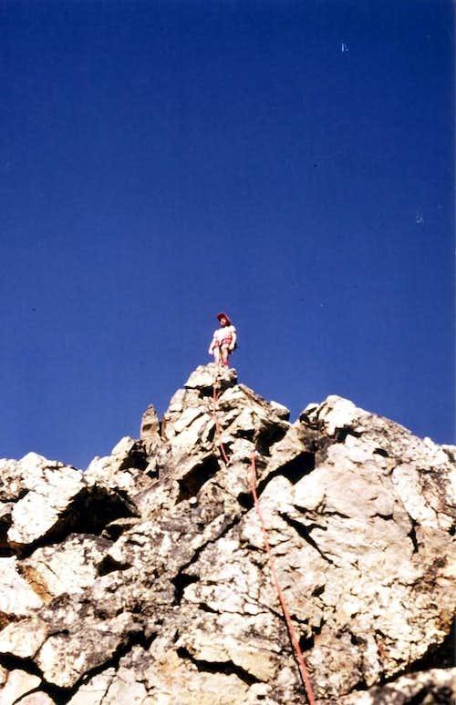 GARIN PEAK (3481m) S-SW BUTTRESS